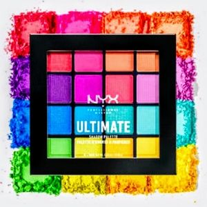 NYC Ultimate Professional Rainbow Shadow Palette
